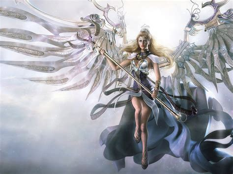 fantasy fairy warrior wallpapers  desktop wallpaperscom