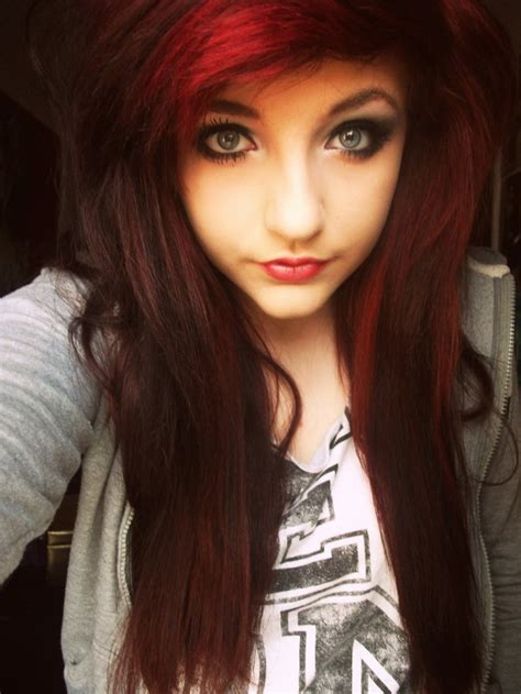 emo hairstyles for redheads 74 best images about scene emo on pinterest scene hair