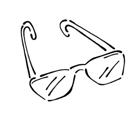 coloring page sunglasses sunglasses coloring page supercoloring com