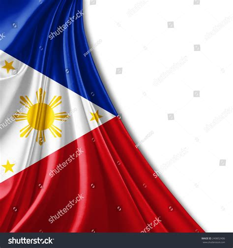 wallpaper design and price philippines philippines flag and white background stock photo