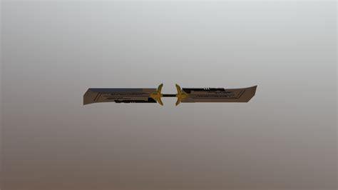 thanos  double sword    model