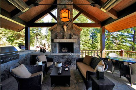 Rustic Outdoor Space   Traditional   Patio   Boise   by
