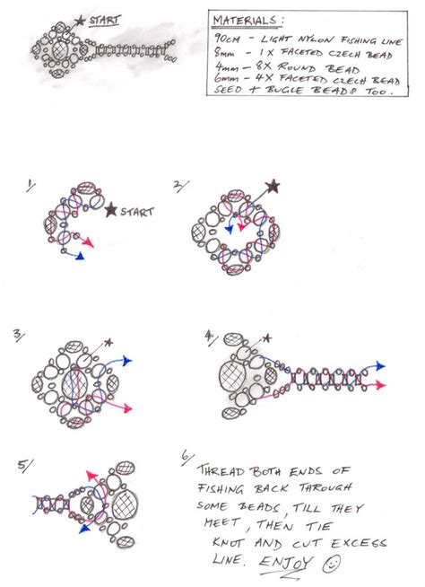 beaded rings free patterns tutorials cocktail ring leisure time pinterest