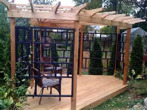 Asian Pergola by Asian Inspired Pergola Asian Patio New York By The