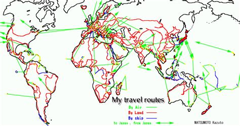 travel route map route map world travel gallery