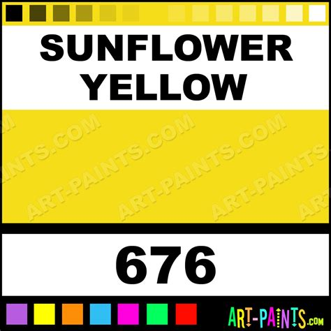 sunflower yellow pigment ink paints 676 sunflower yellow paint sunflower yellow