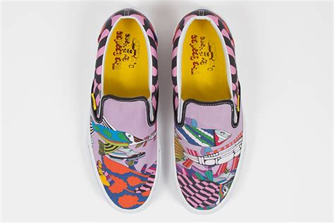 Harga Vans Yellow Submarine as the beatles team up with vans official yellow submarine sneakers coming soon 171 radio