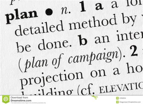 layout dictionary meaning plan word dictionary definitio stock images image 4760254