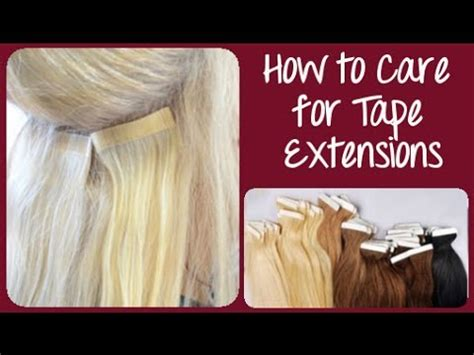 how to care for your hair extensions how to care for in hair extensions instant