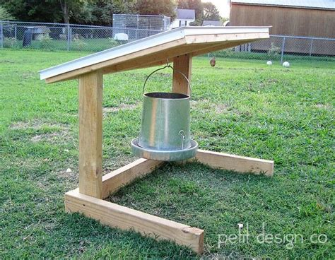 Covered Chicken Feeders covered chicken feeder hanger by petit design co via flickr chickens the run
