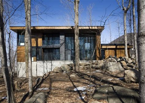 Modern Chalet House Plans by Mountain Chalet Plan In Canada Modern House Designs