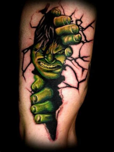 hulk tattoo designs thru tattoos
