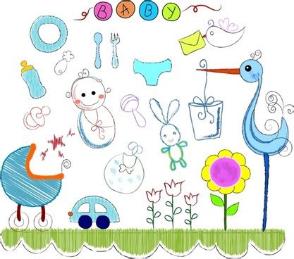 doodle baby free doodle free vector 288 free vector for