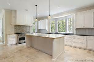 Bay Window Kitchen Ideas Pictures Of Kitchens Traditional White Kitchen Cabinets Page 6