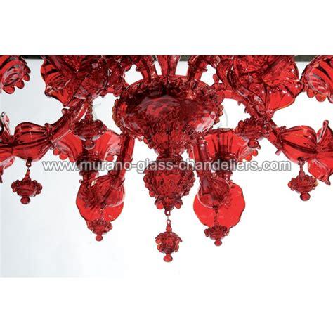 kronleuchter rot glas quot granato quot murano kronleuchter rot murano glass chandeliers