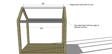 house bed plans diy furniture plans how to build a twin house bed with platform chimney the