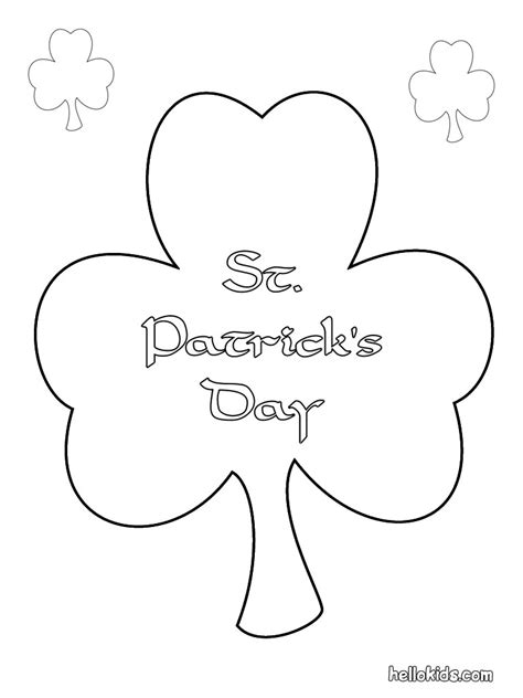 st patricks day coloring pages  coloring page