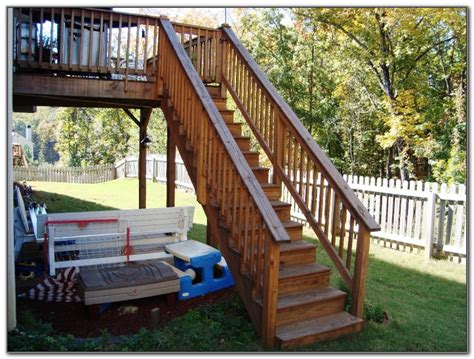deck stairs ideas deck stair railing design ideas decks home decorating