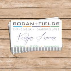 rodan and fields business card template rodan and fields business cards by gingersnapsoriginal on