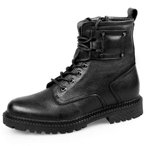 boat shoes that make you taller taller motorcycle boots for men height 8cm 3 2inch warm