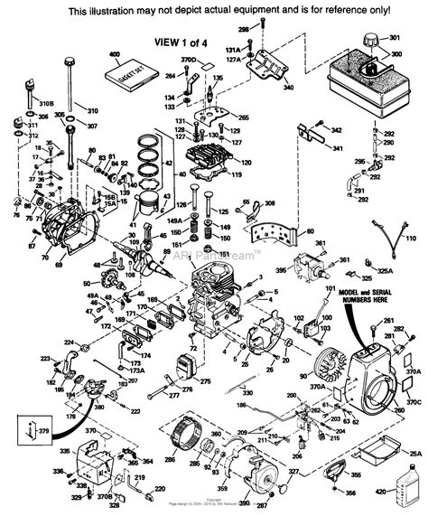 parts diagrams tecumseh hm100 159029c parts diagram for engine parts list 1