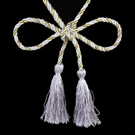 rope tassel curtain tie backs 1 pair curtain tiebacks tie backs tassel rope living room