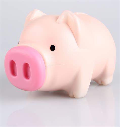 Celengan Babi Nungging Piggy Bank ร ปภาพ ส ชมพ แบบอ กษร กระป กออมส น หม ถ งเง น