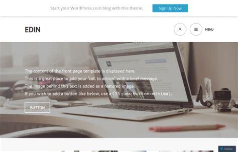 tutorial wordpress edin 20 free responsive wordpress themes for your startup or