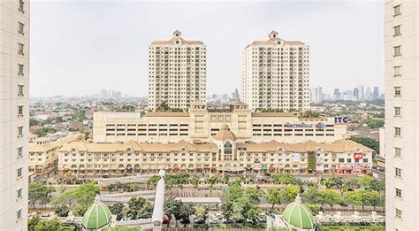 Sewa Apartemen Belleza disewakan belleza apartment city view 1br permata hijau jendela360