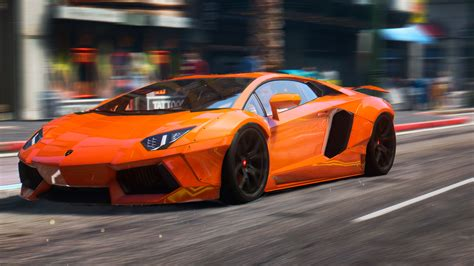 Gta 5 Lamborghini Aventador by 2015 Lamborghini Aventador Liberty Walk Hq Animated
