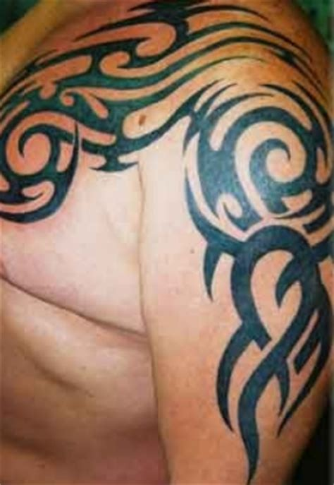 tattoo on arm and shoulder tattoo in gallery tribal shoulder and arm tattoos