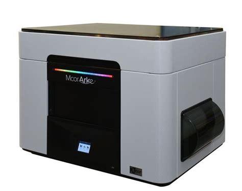 2d print 3ders org mcor launches arke the color desktop 3d printer that uses 2d paper