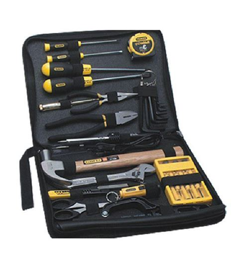 stanley tool kit 18pc home improvement buy stanley tool