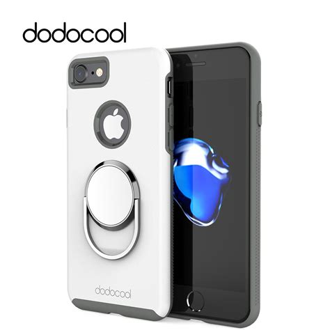 Ipaky 360 Protective Iphone 7 4 7 Inch Slim Ca dodocool phone cases for iphone 7 4 7 inch phone cover with universal 360 degree rotatable ring