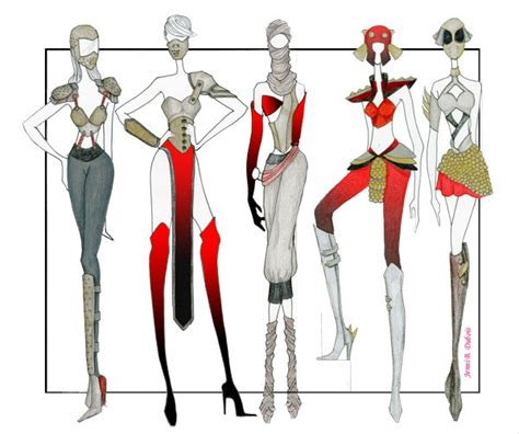 fashion illustration in photoshop various fashion illustrations on pantone canvas gallery