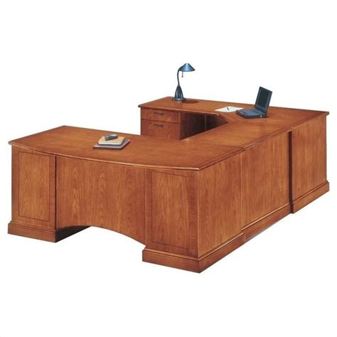 Executive U Shaped Desk Flexsteel Belmont Left Executive Corner U Shaped Desk 71xx 79