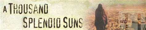 themes of a thousand splendid suns sparknotes a thousand splendid suns
