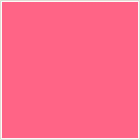 colors that go with pink ff6385 hex color rgb 255 99 133 red wild watermelon