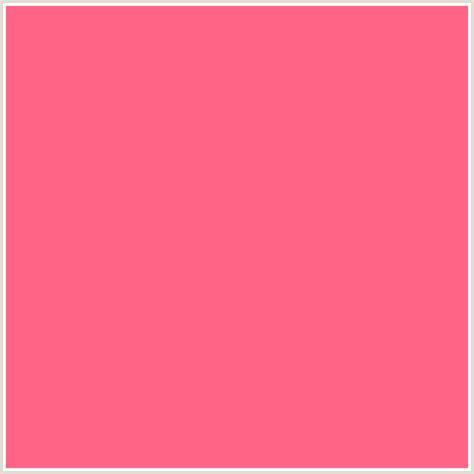 what color is watermelon ff6385 hex color rgb 255 99 133 watermelon