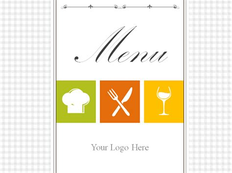 Powerpoint Menu Template restaurant menu powerpoint template