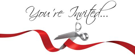 ribbon cutting template ribbon cutting and grand opening tickets wed nov 19