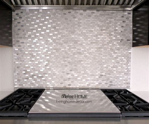 hometalk super simple diy tile backsplash