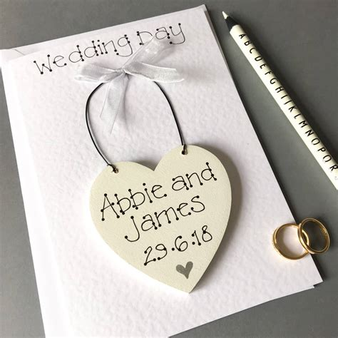 Wedding Card Keepsake by Keepsake Wedding Day Card By Bird Designs