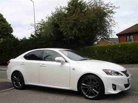 white lexus is 250 2012 lexus is 250 f sport 2012 petrol automatic in white car
