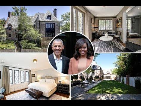 barack obama house barack obama s house tour 2017 where obama family live after leaving the white house