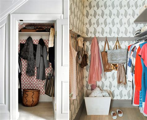 Inside The Closet by Wallpapering The Inside Of Closets Mcgrath Ii