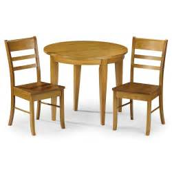 Consort 90cm flip top dining table with 2 chairs next day delivery