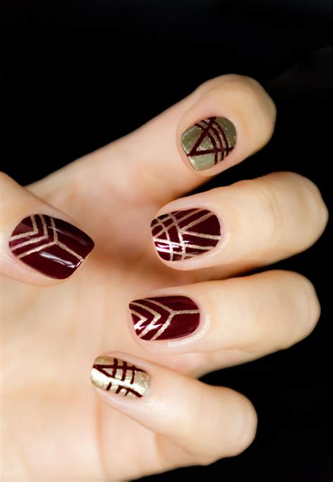 nail deco 35 gorgeous fall nail ideas the crafting nook by
