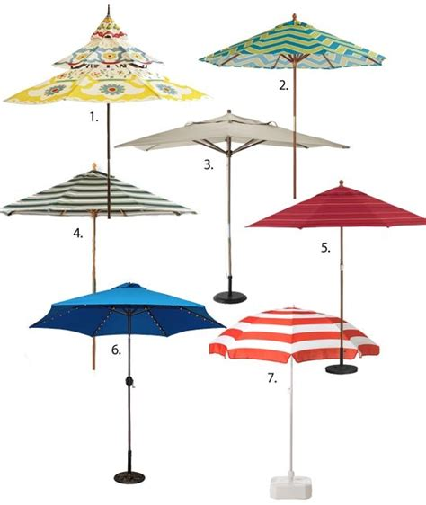 Summer Essential Patio Umbrellas Apartment Therapy Small Patio Umbrellas