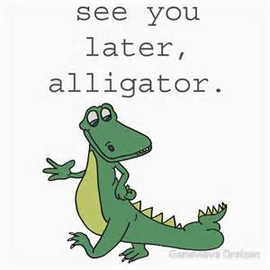 quot see you later alligator quot stickers by genevieve dreizen